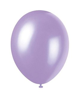 12 Latex Pearlized Lovely Lavender Balloons, 50ct