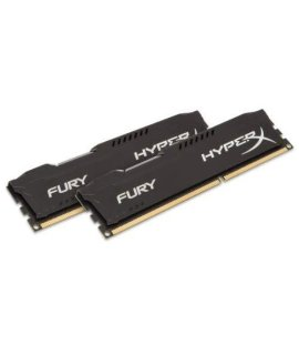 Kingston HyperX FURY 16GB Kit (2x8GB) 1866MHz DDR3 CL10 DIMM - Black (HX318C10FBK2/16)