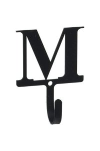3.63 Inch Letter M Wall Hook Small
