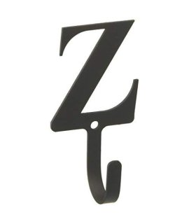3.63 Inch Letter Z Wall Hook Small