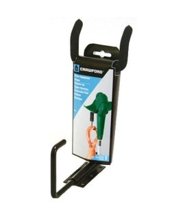 Crawford CMPE-6 Medium Duty Garden Power Tool Hanger, Black