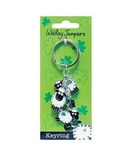 Dublin Gift Woolley Jumper Charm Key Ring