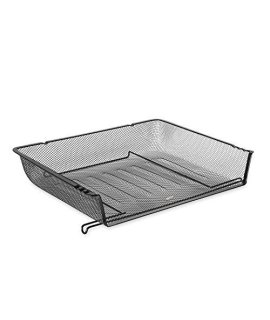 Eldon 62555 Nestable Mesh Stacking Side Load Letter Tray Wire