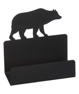 4.5 Inch Bear Business Card Holder