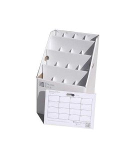 Advanced Organizing Systems SlantFile-16 16 Slot Rolled Document Storage