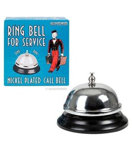 Ring For Service Concierge Lobby Bell