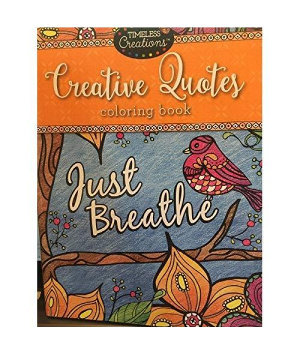 - Buy Cra-Z-Art Timeless Creations Adult Coloring Books Creative Quotes  Coloring Book (16271-6) Online At Low Prices In India -  Fastmediashipsfromusa.com