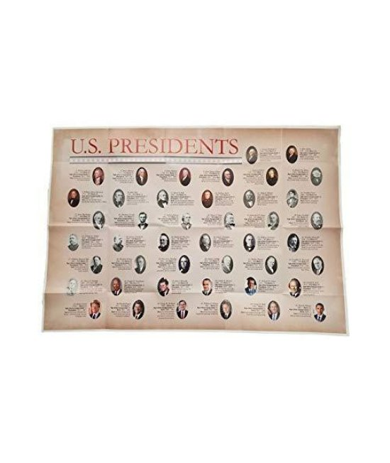 Superior Mapping Company U.S. Presidents Wall Poster Size Wall Poster 40 x 28 (Single Poster)