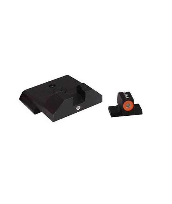 XS Sight Systems SW-F027P-5 F8 Night Sights for Smith and Wesson M P Full Size and Compact