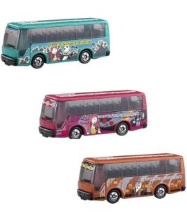 Japanese Nightmare Before Christmas Die Cast Bus Set