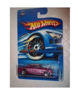 #2005-172 Shoe Box Magenta K-Mart Exclusive Collectible Collector Car Mattel Hot Wheels 1:64 Scale