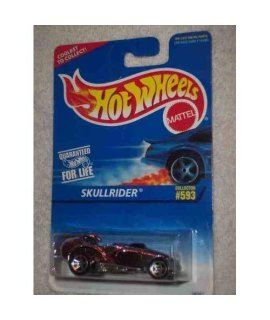 #593 Skullrider 97 Card Hot Wheels Tampo Collectible Collector Car Mattel Hot Wheels 1:64 Scale