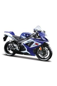 Maisto 1/12 Suzuki GSX-R750 Sport Motorcycle (Colors May Vary)