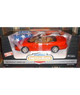 #7232DO Ertl American Muscle 1996 Chevrolet Camaro Z28 1/18 Scale Diecast