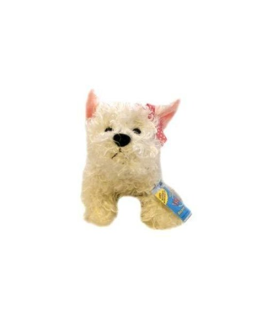 Webkinz White Terrier with Trading Cards