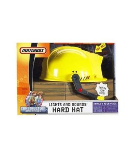 Matchbox Lights And Sounds Hard Hat