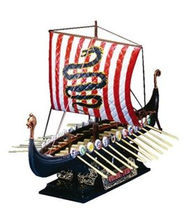 #3 Viking Ship 9th Century AOS43172 by AOSHIMA