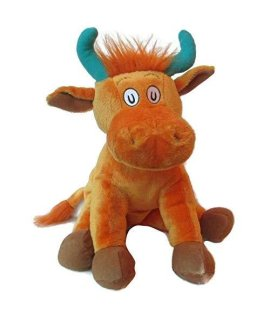 "Dr. Seuss ""Mr. Brown Can Moo! Can You?"" Plush 15"" Cow"