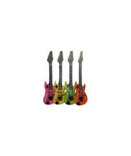 Inflatable Guitar (1 Assorted Colour) [Toy]