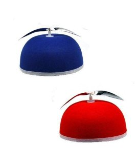Forum Novelties 21106 Hat-Propeller Beanie Accessory (Red or Blue Assorted)