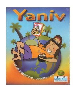 """Yaniv"" Fun Family Card Game By Kodkod -Affordable Gift For Your Little One Item #Lmid-1484"