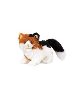 Webkinz Virtual Pet Plush - Calico CAT + Webkinz Bookmark - New with Sealed Tag and Unused Code