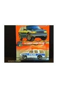 #30 of 75 '97 Chevy Tahoe Police Matchbox