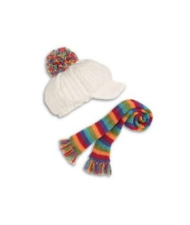 American Girl Julie's Cap and Scarf