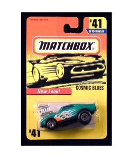 COSMIC BLUES MATCHBOX 1997 Basic Die-Cast Vehicle (#41 of 75)