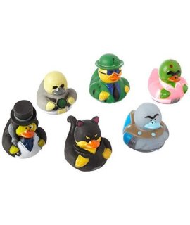 Fun Express Villain Duckies Duckys Villain Rubber Ducks (12 Count)