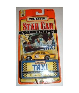 1997 Matchbox Star Car Collection TAXI #804 Sunshine Cab