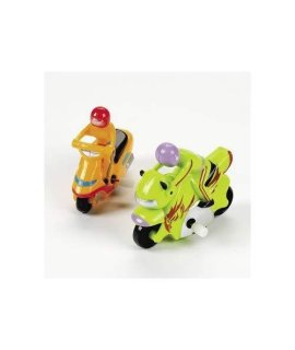 Wind-Up Motorcylcles (1 dozen) - Bulk [Toy]