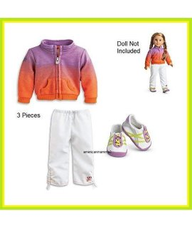 American Girl Doll Mckennas Warmup Outfit