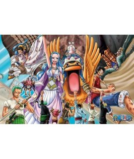 (1000 Pieces) One Piece - Desert Kingdom of Alabasta (50×75cm) Jigsaw Puzzle