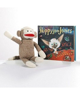 Kohls Skippyjon Jones Sock Monkey Plush By KohlS Cares