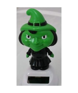 1 X Solar Bobblehead Toy Figure - Dancing Witch
