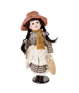 """Hanna"" Ellis Island Collectible Judaica Porcelain Doll"