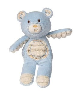 Mary Meyer Thready Teddy Plush Rattle, Blue