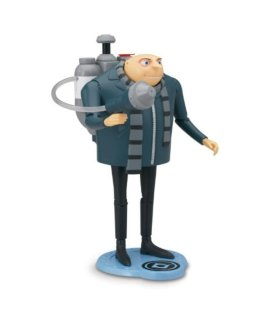 Despicable Me 2 Gru Deluxe Action Figure with H2O Shooter
