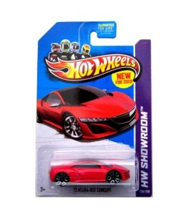 12 Acura NSX Concept 13 Hot Wheels 156/250 (Red) Vehicle