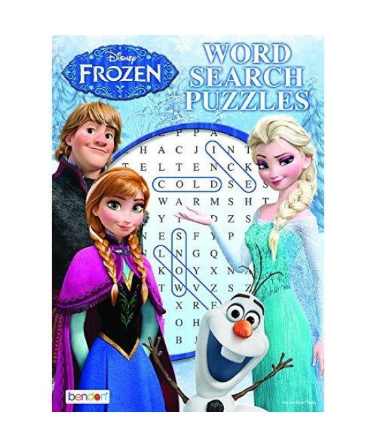 Disney Frozen Word Search Puzzles 1Pcs (Random)