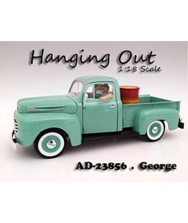 """Hanging Out"" George Figure For 1:18 Scale Models by American Diorama 23856"