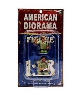 Seated Sheriff Officers 2 Piece Figure Set for 1:18 Models by American Diorama 23831