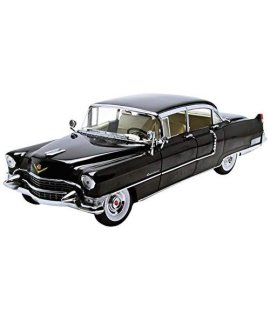 #12923 Greenlight 1955 Cadillac Fleetwood Series 60 Special,Black 1/18 Scale Diecast