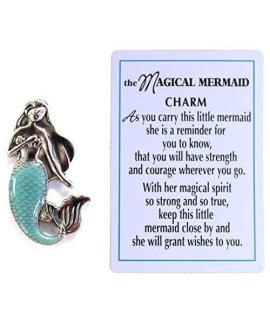 The Magical Mermaid Wish Charm With Story Card by Ganz