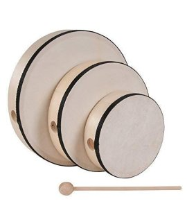 Westco 6 Inch Hand Drum With Mallet (Age 18+ Months)