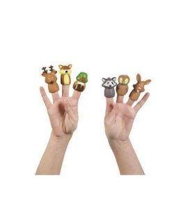 Woodland Animal Finger Puppets - 12 pc