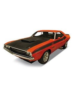 1970 Dodge Challenger T/A Orange 1/24 by Welly 24029