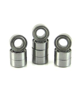 .125X.250X.109 Precision Ball Bearings (10) Abec 3 Metal Shields