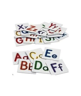 26 Sensory Alphabet Letters Lowercase & Uppercase Textured Touch And Trace Montessori Materials Preschool Toys